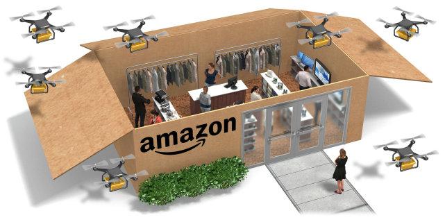 """早报:""""天猫小黑盒""""神秘上线 亚马逊考虑多种实体零售店模式"""