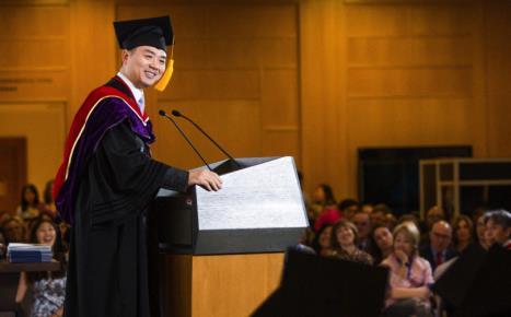 刘强东清华毕业演讲:我的事业中从来没有B计划