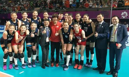 中国女排亚运夺冠,马云惊喜现身要为姑娘们清空购物车