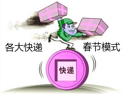 商家请知晓!2019各大快递春节模式时间
