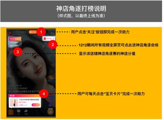 """2019淘宝短视频双12""""神店角逐赛""""玩法解读"""