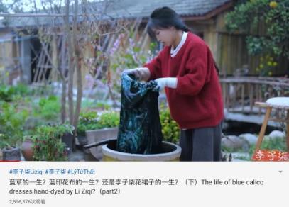 网红李子柒停工 YouTube上的残暴搏杀