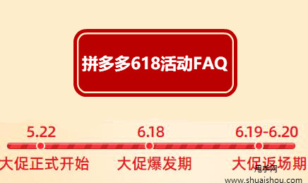 2020拼多多618活动报名常见FAQ