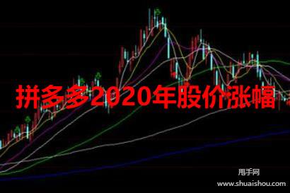 拼多多2020年股价涨幅达330.92%