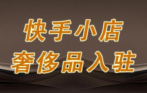 快手小店3月奢侈品商家入驻优惠政策解读
