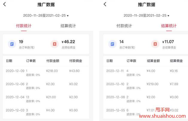 抖音精选联盟【佣金统计】改版,新功能介绍