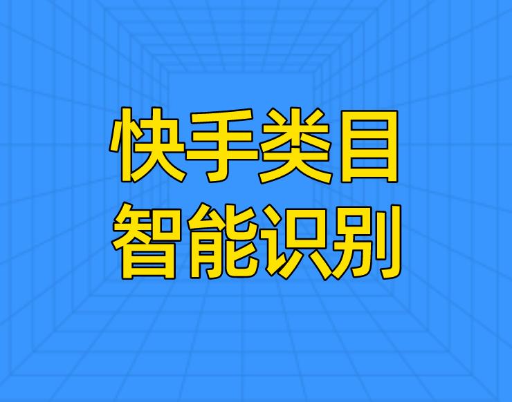 【功能上线】快手类目智能识别,提高商品过审率!
