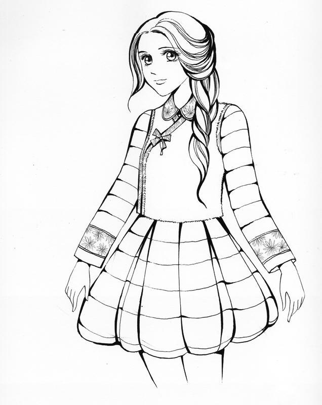 """中主角的服装从""""二次元""""展现变为了一条带着中国传统元素的公主风裙子"""
