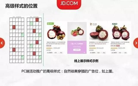 京东快车活动推广高级样式广告投放-开店指导