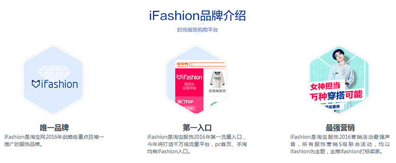 淘宝ifashion专题
