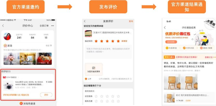 淘宝评价激励升级版上线,功能抢先知!图片